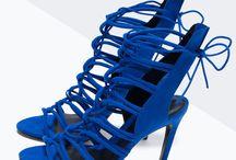 Chaussures Femme / Bleu et longueu