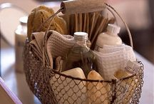 soap baskets / by Stacey Wilkanoski