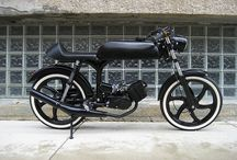 motorcycle and bicycle inspiration / by Kevin Aston