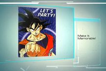 Dragonball Z Birthday Party Ideas, Decorations, and Supplies / Dragonball Z Party Supplies from www.HardToFindPartySupplies.com, where we specialize in rare, discontinued, and hard to find party supplies. We also carry several of the more recent party lines