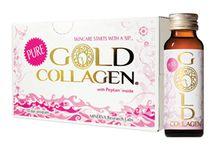 Liquid Collagen | Pure Gold Collagen / Το Pure GOLD COLLAGEN® δίνει τη λύση δρώντας εσωτερικά και υπερέχει ξεκάθαρα, αφού περιέχει Υδρολυμένο κολλαγόνο, Υαλουρονικό οξύ, Έλαιο μποράγκο, Ν-ακετυλογλυκοζαμίνη, Βιταμίνη C, Bιταμίνη E, Bιταμίνη B6, Βιοτίνη, Χαλκό, Ψευδάργυρο, Εκχύλισμα μαύρου πιπεριού (Piper nigrum), Στέβια. Το υδρολυμένο κολλαγόνο είναι τύπου I, θαλάσσιας προέλευσης (από τα ψάρια Τιλάπια). (Αρ. Γνωστοποίησης ΕΟΦ: 50094-25/6/2013)