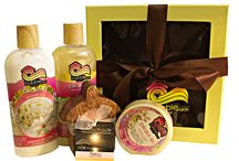 Hawaiian Gifts / What better way to show your appreciation than to give a gift from Hawaii.  Bubble Shack sends aloha all over the world with our handmade bath + body gift sets and candles.