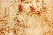 Leonardo da Vinci (1452-1519) / Italialainen tieteilijä, matemaatikko, insinööri, keksijä, anatomi, taidemaalari, kuvanveistäjä, arkkitehti, kasvitieteilijä, muusikko ja kirjailija, joka uteliaisuudensa johdosta nousi yhdeksi maailman tunnetuimmaksi hahmoksi kautta historian.