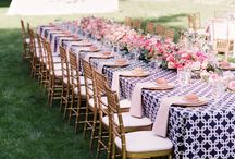 Pattern and Color Wedding Ideas / Add a little pattern and color into your affair. / by Mill Crest Vintage