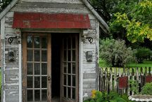 Rustic Sheds, Small Homes, Hideaway Places
