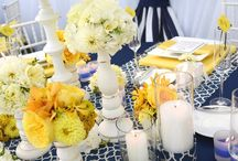 Blue & Yellow Event