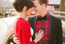 christmas wedding inspiration / Weddings during Christmas and New Year holiday season