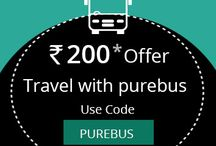Purebus.com new offer / Online bus ticket booking