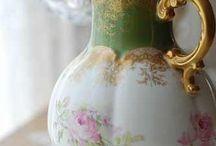 porcelánok- teáskészlet