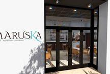 Maruska - Gastrobar -Restaurante / Proyecto de interiorismo para un bar situado en Valencia. Diseñado por MSE Project.