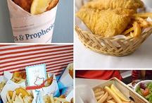 nautical/fish/beach party ideas