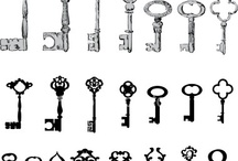Keys and padlocks / by Shirl Ann