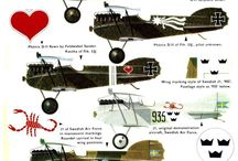 Aircrafts WW I - Others