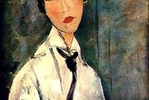 Artist: Modigliani, Fav. / Modigliani has been my favorite artist since before college.