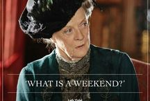 Downton Abbey / fan board