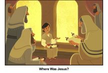 Boy Jesus in the Temple Bible Activities / When Jesus was 12, he and his family went to Jerusalem for the Passover festival. On the way home, they noticed Jesus was missing and returned to find him. The found him in the temple complex talking with the teachers. These Bible activities for children will help kids learn about this early event in the life of Jesus.