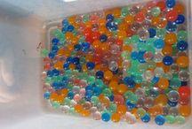Kulki hydrożelowe, styropianowe, marbles itp. / Kulki i kulki - pomysły na kulkowanie :)