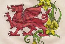 Welsh Dragons