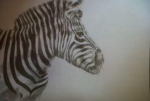 My own / graphite pencil