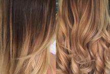Włosy podpalane