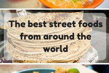 Food around the globe / The best street food, snacks and culinary delights from around the globe  creator: www.yokomeshi.co.uk To join board follow me and send a message!