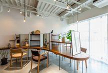 店舗ファサード、内装デザイン