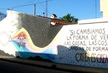 Street Art por MagdOmba / Trabajos que hice en la calle