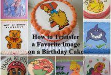 Picture Print Cakes Birthday