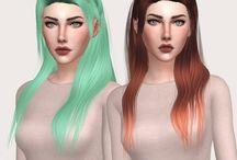 Sims 4 hår
