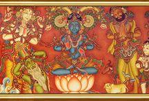 India : Kerala Mural Art