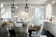 White Kitchens / by BROCK DESIGN GROUP