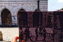"""Nereo Trabacchi / Fotografo che con il suo progetto """"Piacenza tra ieri e oggi"""" ha messo in relazione il passato e il presente della città."""