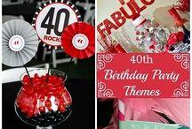 40th Birthday / 40. narozeniny