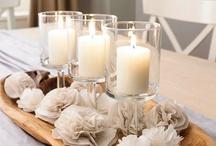 Piensisustus / Kodin koristeita, pieniä yksityiskohtia ja kukkia, jotka tekevät kodista kauniin
