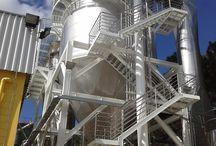 Alguns Secadores Spray Drier de Nosso Fornecimento / Fotos de secadores spray drier de fornecimento da RPM Brasil