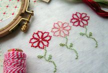 Cross Stitch Flowers, Trees and more flora / by natasja Koekoek