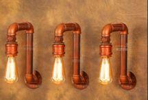 Lamp - Pijpleiding