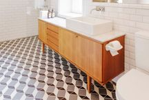 Architecture - tiled floor