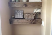 DIY Shelving...