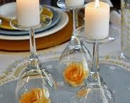 TABLE DECOR AND CANDLES