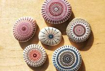 Kameny a malované kamínky