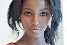African-brewed supermodels / Melanin Wins.
