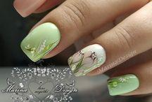 Ногти весна