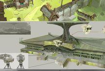 concept land
