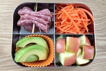 Healthy, Simple School Lunches / Raise a healthy family by creating simple lunches that are also healthy lunches. Gluten and dairy-free lunch ideas.
