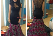 dress / dress and gown