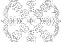 tatting doilies with patterns-πετσετακια φριβολιτε πατρον