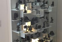 Statues display