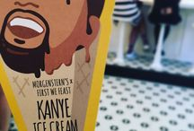 I don't know how many miles we had to walk to get Audrey some Kanye Ice Cream!  I don't know how many miles we had to walk to get Audrey some Kanye Ice Cream!