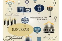 Hanukkah Vector Graphics / Trendy vector word art graphics for the home in AI, EPS, GSD, and SVG formats. / by My Vinyl Designer